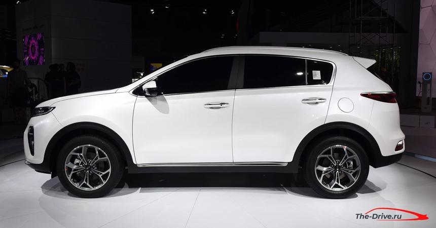 Kia Sportage 2021 года. Когда появиться в России новый кузов? фото-3