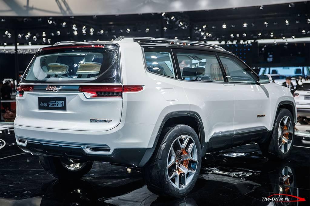 Jeep Grand Cherokee 2021 года. Дата выхода в России нового кузова фото-1